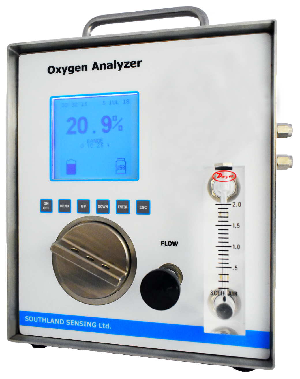 OMD-740 oxygen analyzer