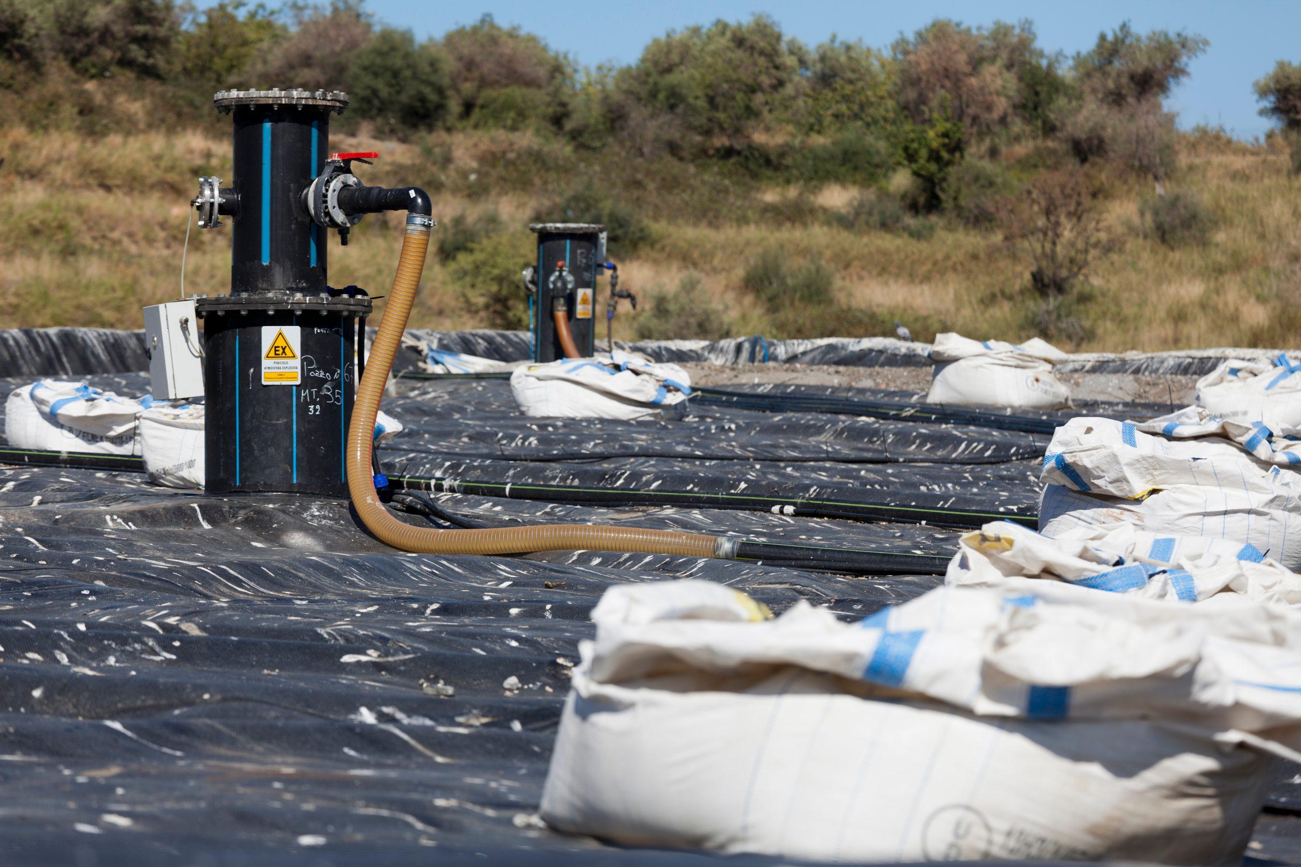Messina,,Sicily,,Italy,,11,October,2012,,Municipal,Landfill.,Methane,Gas