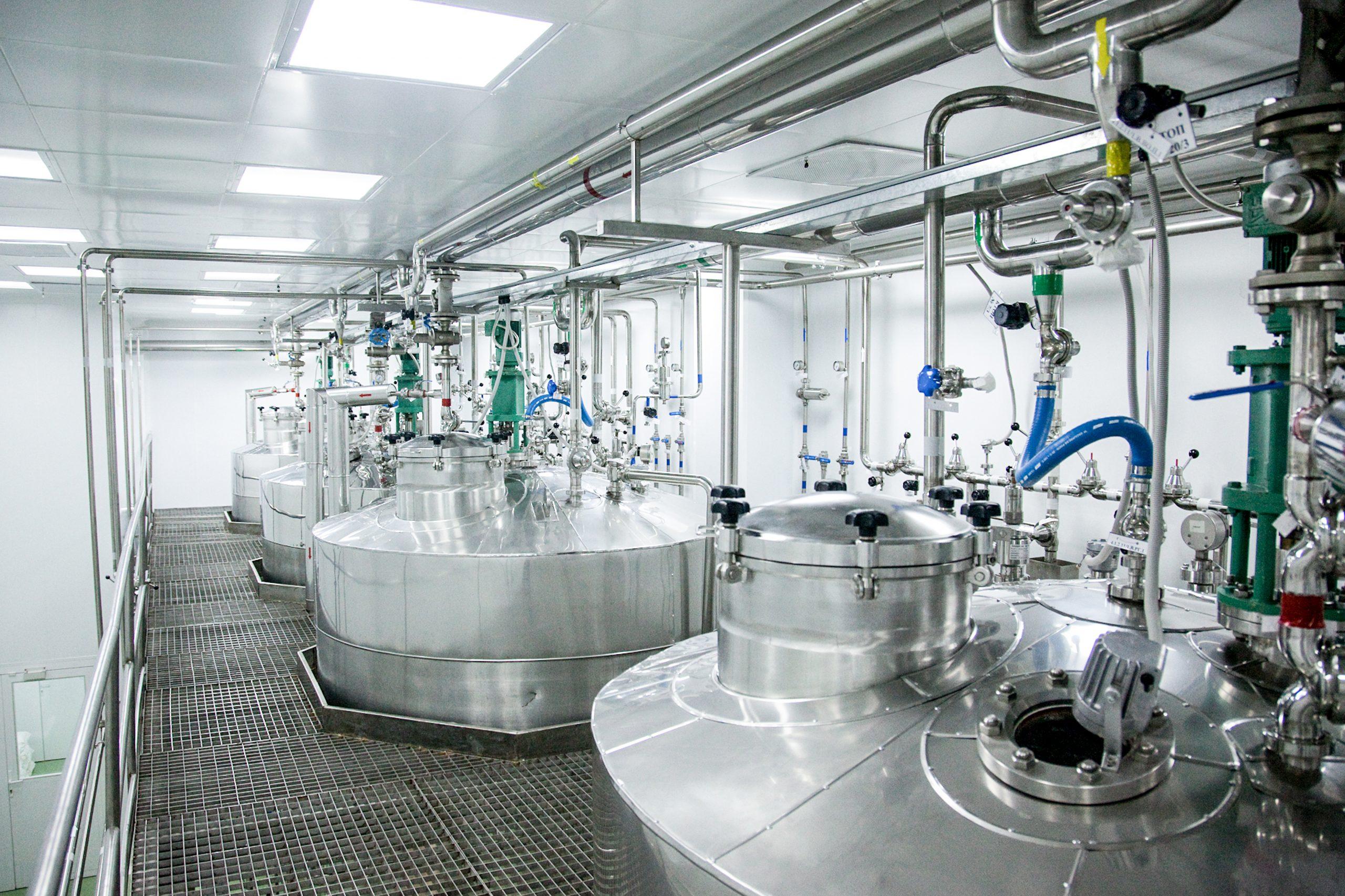Pharmaceutical,Production,Of,Liquid,Pharmaceuticals